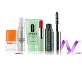 Pick 5 samples with any $35 purchase @ Clinique