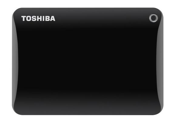 Toshiba - Canvio Connect II 2.5TB External USB 3.0 Portable Hard Drive - Black