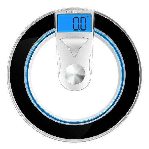 Etekcity Digital Body Weight Bathroom Scale, 400lb/180kg
