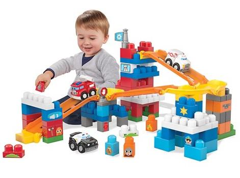 Mega Bloks® First Builders Fast Tracks Deluxe Rescue Center @ Target.com