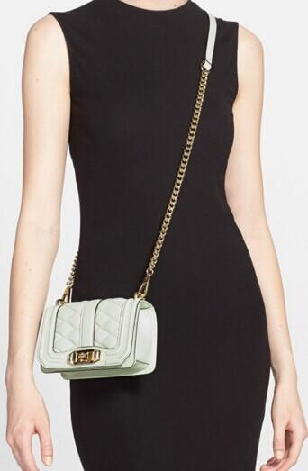 Rebecca Minkoff Mini Love Quilted Leather Shoulder Bag @ Saks Off 5th