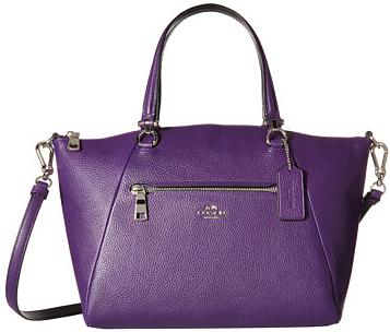 COACH Bicolor Polished Pebble Leather Prairie Satchel On Sale @ 6PM.com