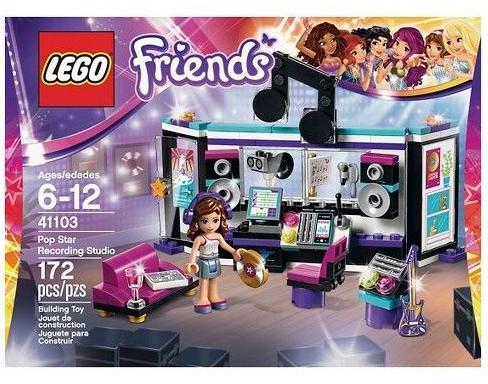 LEGO Friends Pop Star Recording Studio 41103