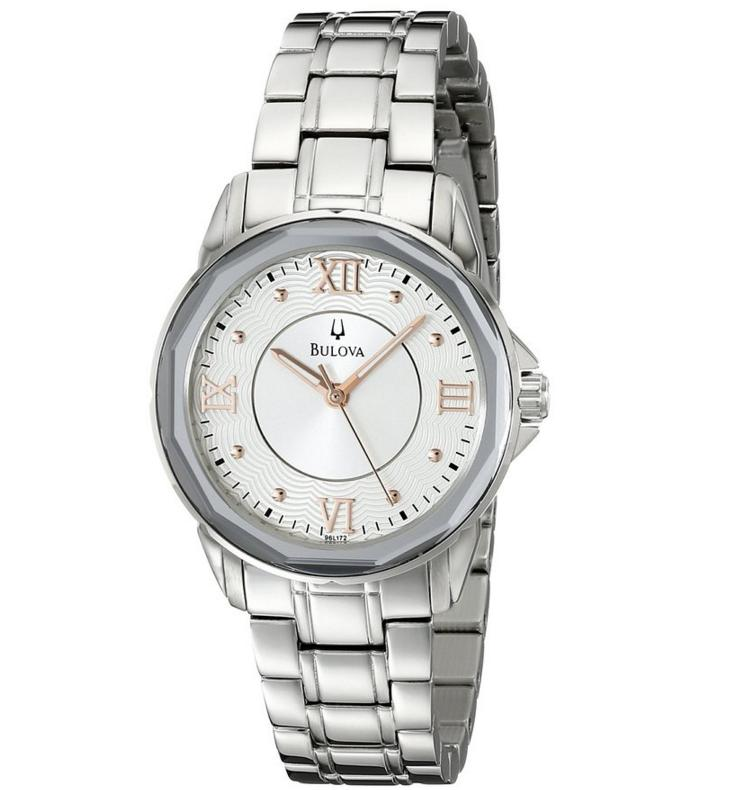 Lowest price! Bulova Women's 96L172 Dress Round Bracelet Watch