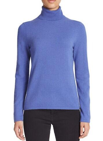 LORD & TAYLOR Cashmere Turtleneck Sweater @ Lord & Taylor