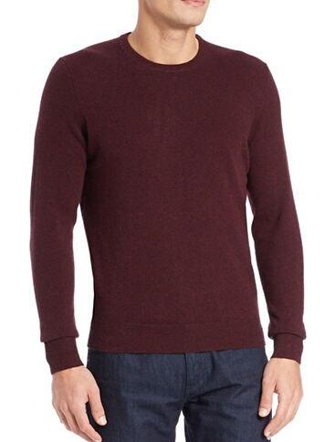 BLACK BROWN 1826 Cashmere Crewneck Sweater @ Lord & Taylor