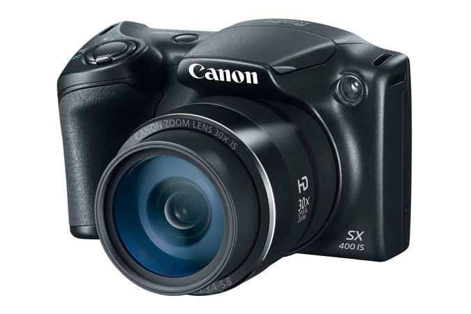 Canon PowerShot SX400 IS Black Refurbished