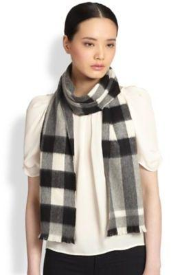 Burberry Check Cashmere Scarf @ Nordstrom