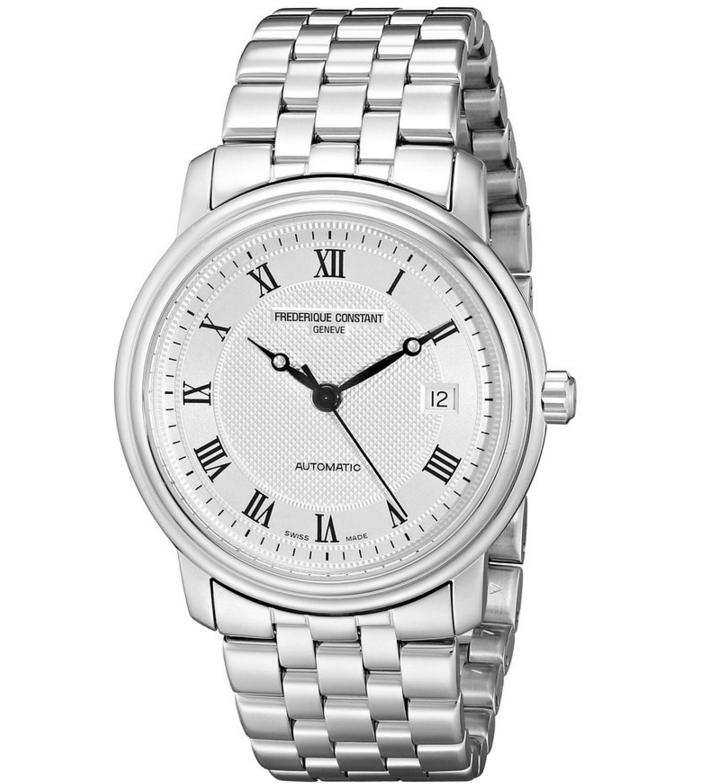 Frederique Constant Men's Classics Stainless Steel Automatic Watch