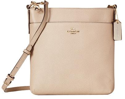 COACH Embossed Textured Leather North/South Swingpack On Sale @ 6PM.com