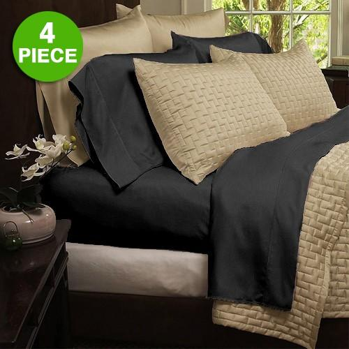 From $13.99 Hotel Organic Bamboo Bed Sheets 4-piece Set