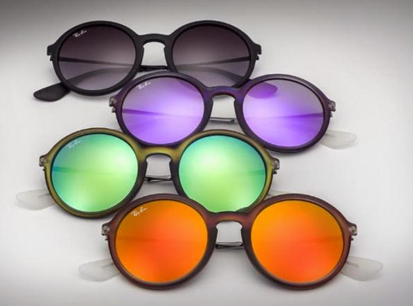 Ray-Ban Unisex 'Injected Man' Sunglasses