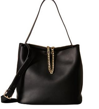 Gabriella Rocha Sheila Leather Tote with Gold Chain