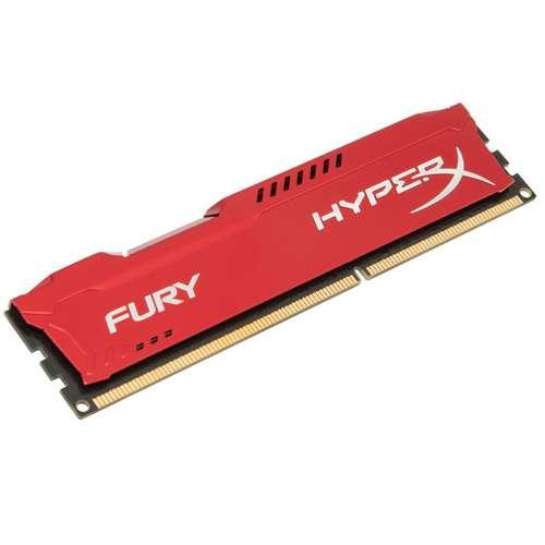 Kingston HyperX Fury Red 4GB Desktop Memory Module