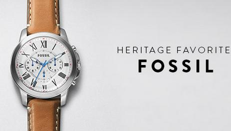 Up to 30% Off +  25% off Full Priced Item @ FOSSIL