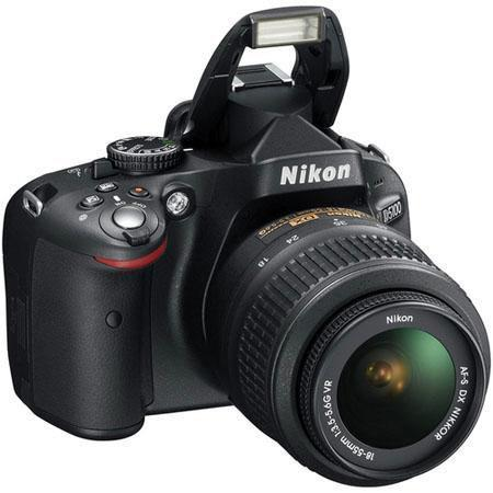 Nikon D5100 DX-Format Digital SLR Camera Kit with 18-55mm f/3.5-5.6G AF-S DX (VR) Lens - Refurbished