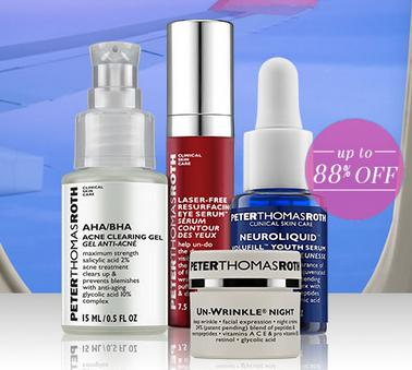 All Travel Sizes For $5Sale @ Peter Thomas Roth