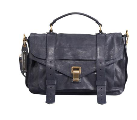 Proenza Schouler  PS1 Medium Satchel Bag, Midnight @ Bergdorf Goodman