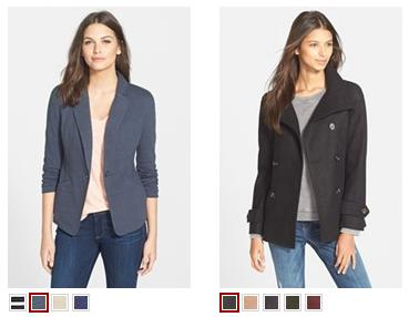 Under $50 Woman's Jacket Sale @ Nordstrom