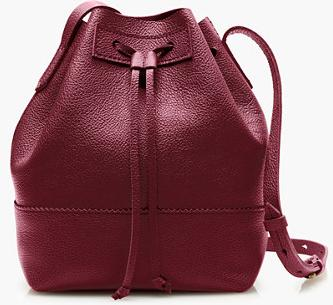 J.Crew Downing Bucket Bag On Sale @ J.Crew