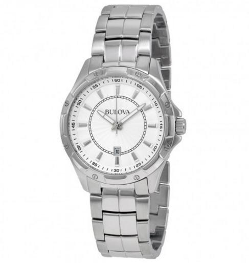 Lowest price! BULOVA Classic Silver Dial Stainless Steel Men's Watch