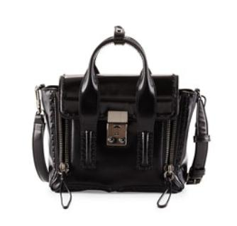 3.1 Phillip Lim Pashli Mini Satchel Bag, Black