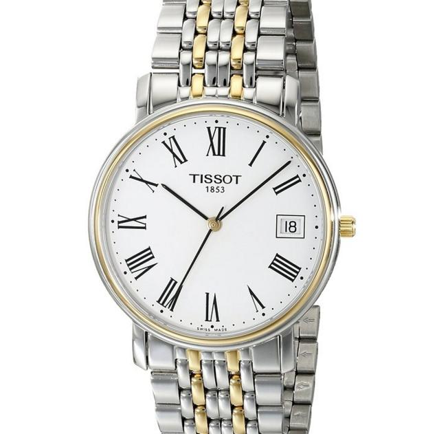 Tissot Men's T52248113 T-Classic Desire Two-Tone Watch