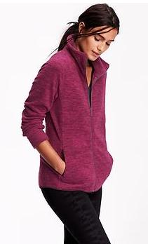 From $6 Select women's fleece tops, vests and jackets