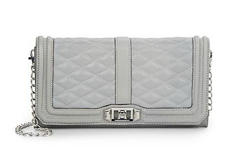 Rebecca Minkoff Love Quilted Leather Convertible Clutch