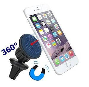iVoler Air Vent Magnetic Universal Cell Phone Car Holder for iPhone 6/6S Plus