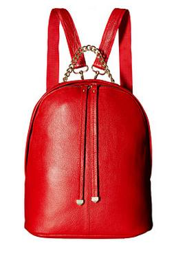 Gabriella Rocha Margo Leather Backpack with Gold Chain