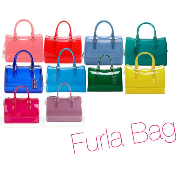 $102.39 FURLA Candy Cookie Mini Satchel Handbag