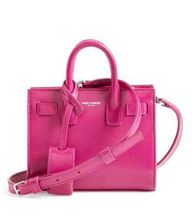 Saint Laurent 'Toy Sac de Jour' Leather Tote