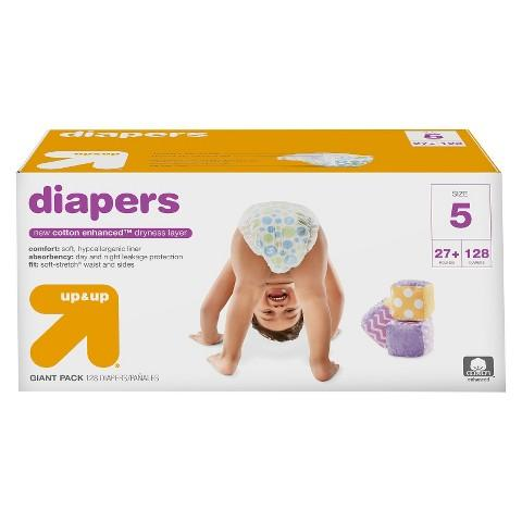 FREE $10 GIFT CARD 2 x up & up Diapers Giant Pack