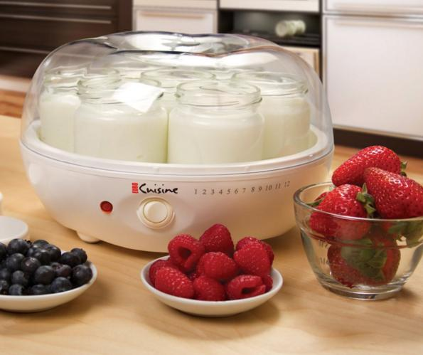 Euro Cuisine YM80 Yogurt Maker @ Amazon.com