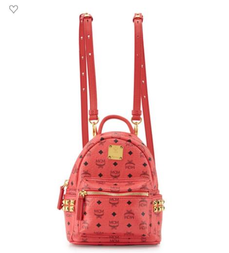 MCM Stark Side Stud Backpack X-Mini