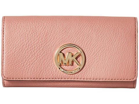 MICHAEL Michael Kors Fulton Carryall Wallet (Dusty Rose)