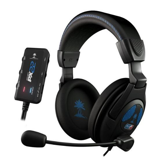 Turtle Beach - Ear Force PX22 - Universal Amplified Gaming Headset- PS3, Xbox 360 - FFP
