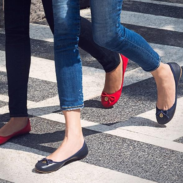Up to 60% off Flat Sale @ Tory Burch