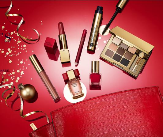 $37.5 The Ready In Red Makeup Collection with Any Purchase
