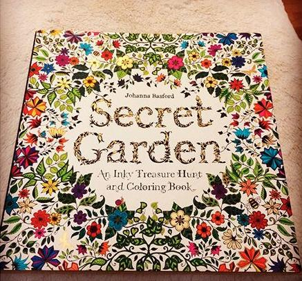 Secret Garden: An Inky Treasure Hunt and Coloring Book @ Barnes & Noble.com