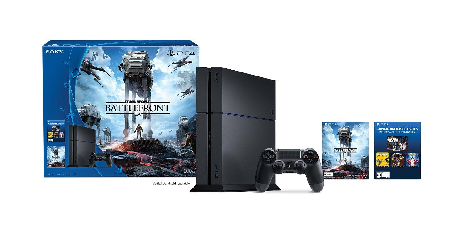 PlayStation 4 500GB Console - Star Wars Battlefront Bundle