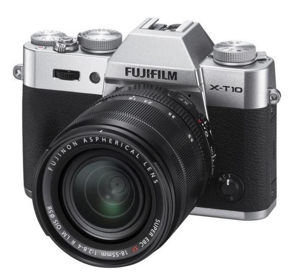 Fujifilm X-T10 Mirrorless Digital Camera Kit with XF 18-55mm F2.8-4.0 R LM OIS Lens