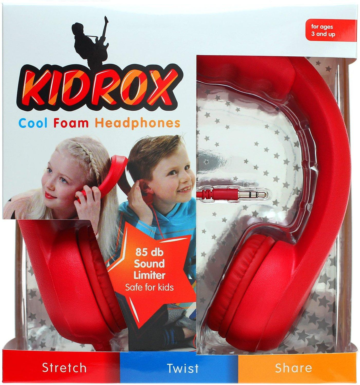 Kidrox Volume Limited Wired Headphones For Kids