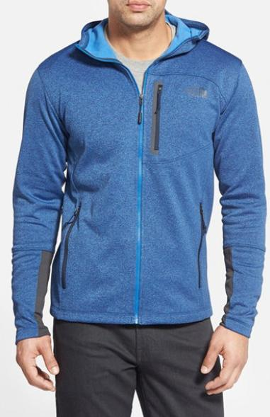 The North Face Men's Canyonlands Fleece Full-Zip Hoodie On Sale @ Sports Authority