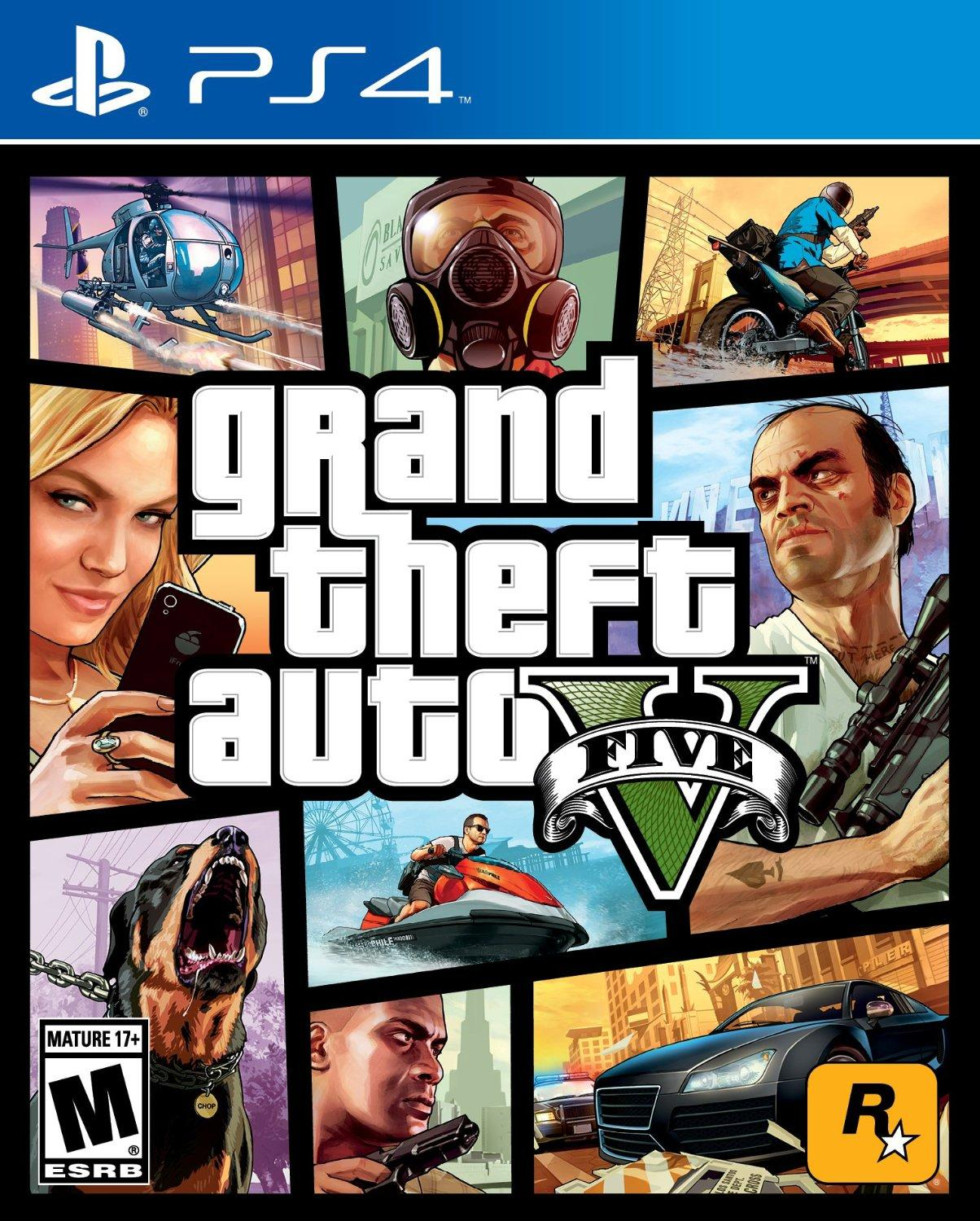 $29.99Grand Theft Auto V 侠盗猎车手5 /PS4/XBOX ONE版)