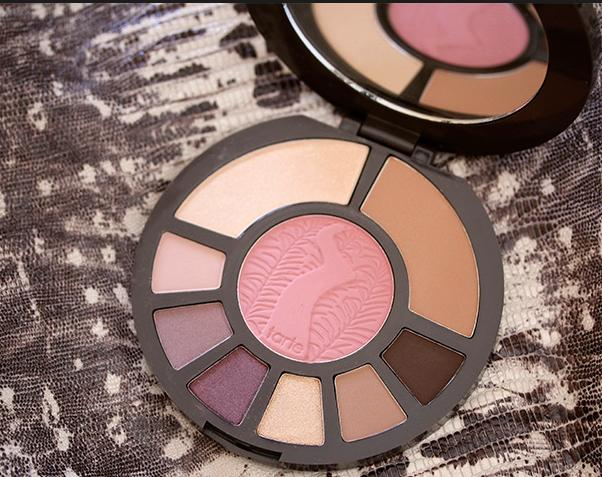 $28+free samples rainforest after dark  colored clay eye & cheek palette @ Tarte Csmetics