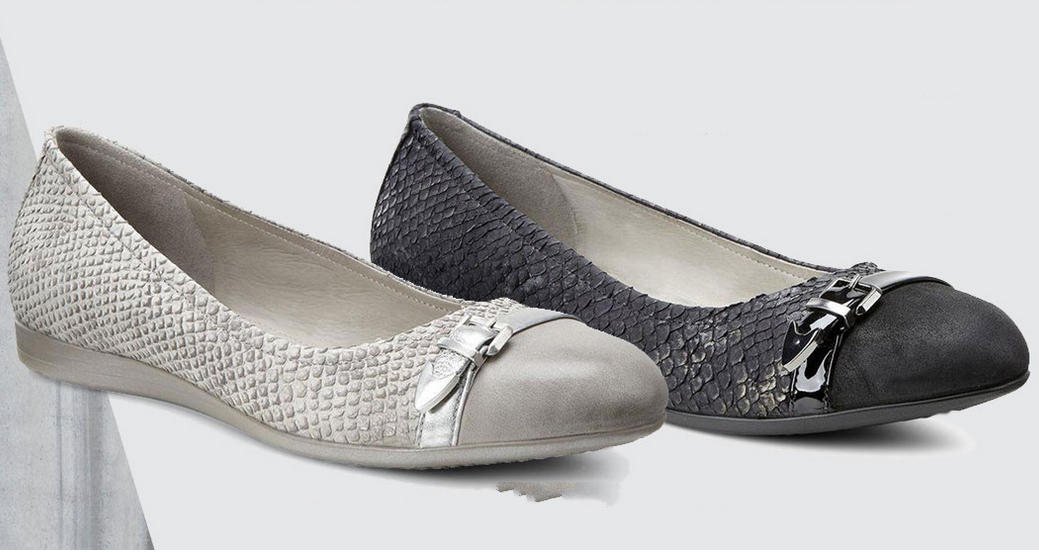 24 Hours Only! ECCO Women's Touch 15 Ballerina Flat