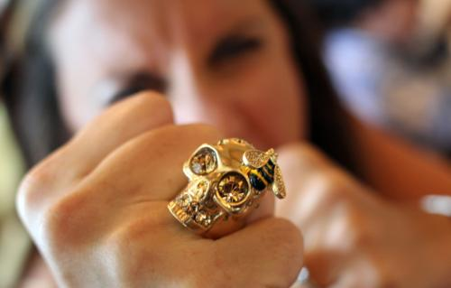 Up to 70% Off Select Alexander McQueen Skull Ring