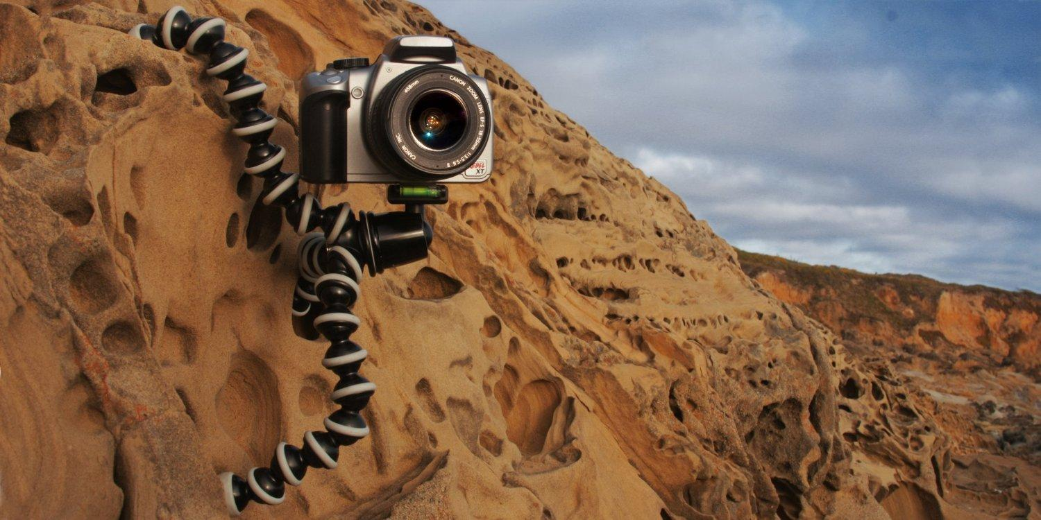 JOBY Gorillapod SLR Zoom Tripod with Ball Head Bundle for DSLR Cameras